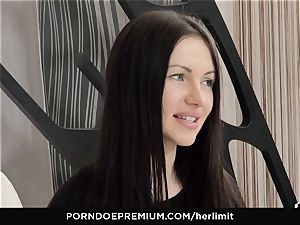 HER confine - rough ass-fuck and face poke with Sasha Rose