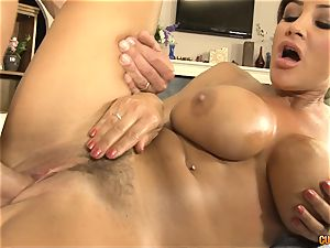 Lisa Ann torrid and hookup massage