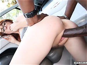 Penny Pax treats herself to a ebony schlong