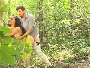 Dane Jones bj and outdoor fuck-fest in a summer dress