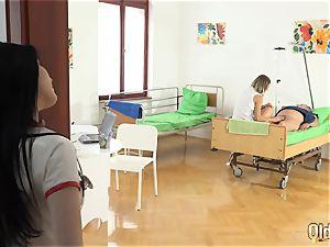 granddad at the medic plows hot nurses elderly young