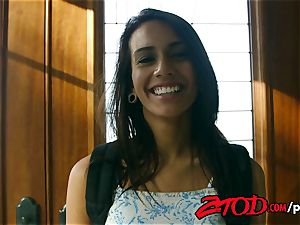 ZTOD - Janice Griffith in daddys tiny shag puppet