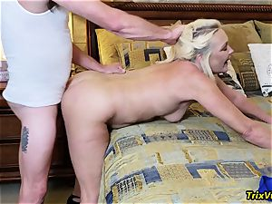 palace party orgy with Ms Paris Rose and Melanie Hicks