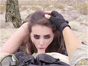iron Gear Solid five ass fucking pornography parody with mischievous dark-haired Casey Calvert