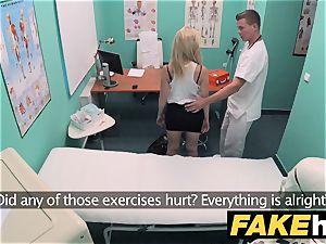faux polyclinic petite blondie Czech patient health test