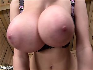 plus-size. Lucie Wilde - You want my hefty natural knockers?