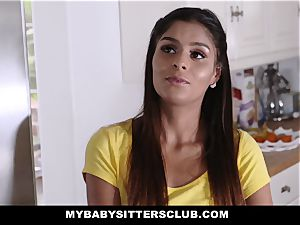 MyBabySittersClub - nice teenage sitter drills tutor
