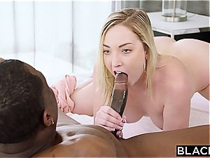 BLACKED Side dame Gets penalized With bbc