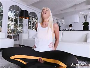 Step dad romps partner playfellow s daughter and allys opening up Your Stepmom