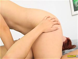 Minge gobbling wild lesbos Kimberly Kane and Jayden Cole messing with their fuckboxes