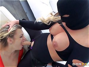 domme Phoenix Marie gets her hands on Blake Eden