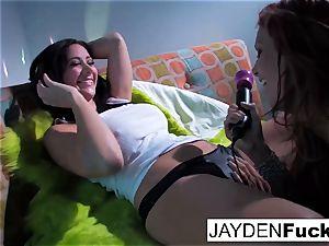 Jayden Jaymes and Jayden Cole get ultra-kinky