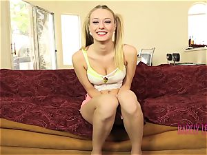 fantastic teen Natalia Starr ride a beef whistle