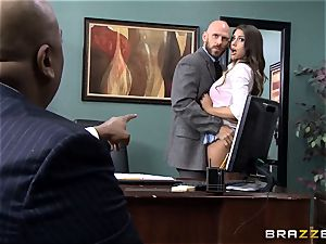 delectable August Ames gets poked by the dean