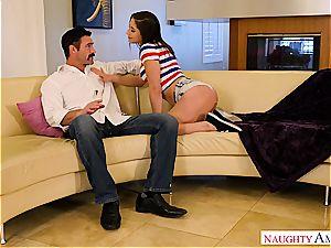 Abella Danger pounding her fresh neighbor