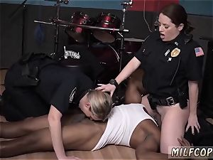 cougar phat breasts raven hair raw movie grabs cop ripping up a deadbeat father.