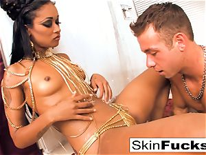 princess of the Damned wanks his stiffy