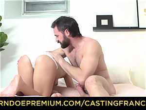 casting FRANCAIS - unexperienced cutie smashed and jizm glazed
