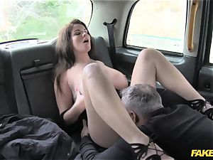 fake taxi phat melons and luxurious eyes takes knob