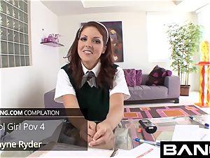 BANG.com: handsome college chick pov
