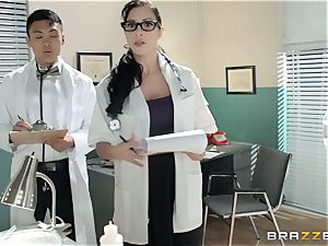 Ryder Skye takes her physician to the final level