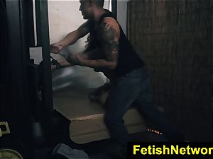 FetishNetwork Ashley Adams alley torn up