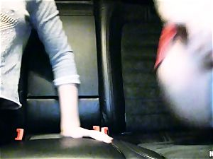 super-cute Lola Taylor gets fleshy romping on the back seat