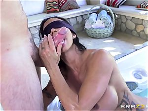 OMG! I poked my greatest friend's big-titted insatiable mommy pleasure buttons Jade