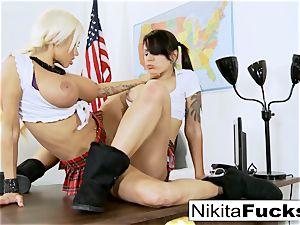 Classroom teasing leads to lesbian pummeling