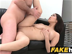 fake Agent thick bosoms asian wants rock-hard plow