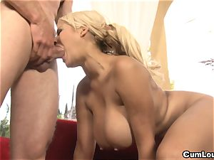 big-boobed Latina Bridgette B is screwed by a giant hard-on