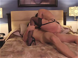 The Game part two with cougar brown-haired India Summers