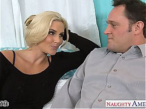 red-hot wifey Phoenix Marie gets pinkish slit humped