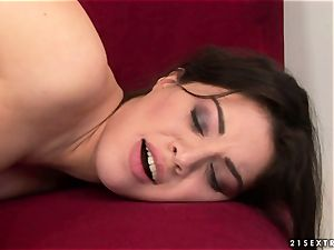 Tiffany dame kissing steaming with mature female
