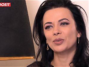 LETSDOEIT - Romanian beauty Creamed By a French schlong