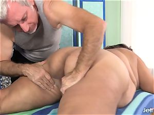 bbw Veruca Darling's fuck-fest Crazed massage
