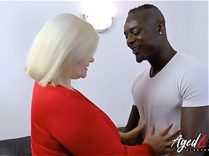 AgedLovE Lacey Starr bi-racial hard-core anal