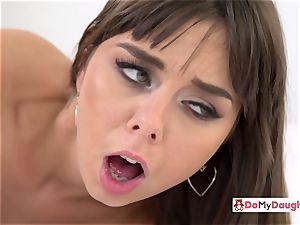 Shae and Ariana are seduced by each others insatiable stepdad