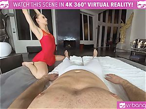 VRBangers.com pliable Jill Will stretch Her tastey cooter
