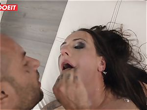 LETSDOEIT -Mea Melone encountered Her limit drilling Mike Angelo