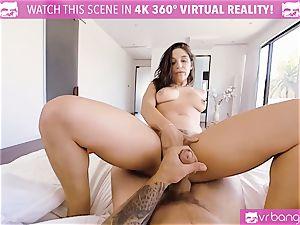 VR pornography - buxomy Abella Danger audition bed get horny
