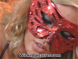 Celeste star squeals as Samantha Saint entices her