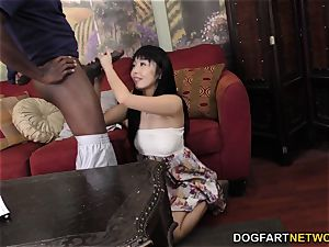 Marica Hase big black cock rectal with Mandingo