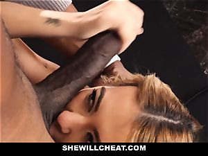 SheWillCheat - tart wifey Cheats With bbc