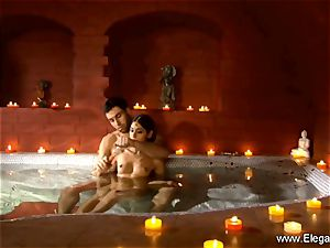 softcore duo In The Indian Sauna