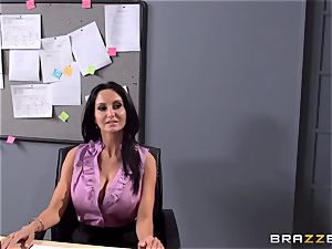 huge-boobed professor Ava Addams is nailed by her schoolgirl