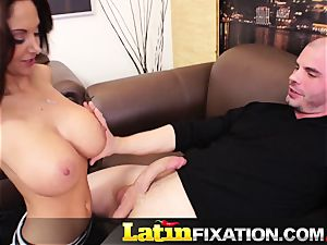 LatinFixation Ava Addams gulp appetizing spunk