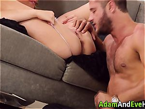 cool couple Mia Malkova and Danny Mountain romping