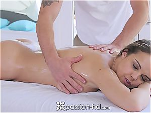 Passion-HD - Dillion Harper wet massage with facial