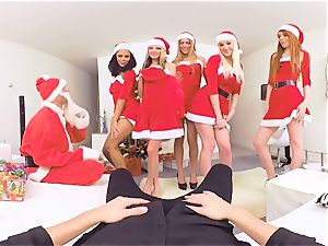 VRBangers gang plumb Merry XXXmas and One shaft for All